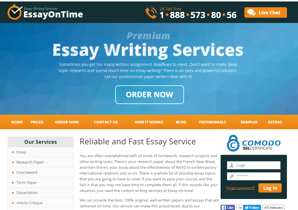 Essay-On-Time.com Review